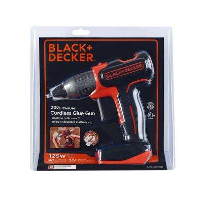 20-Volt MAX Cordless Full Size Glue Gun (Tool Only)