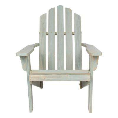 Marina Dutch Blue Rustic Cedar Wood Adirondack Chair