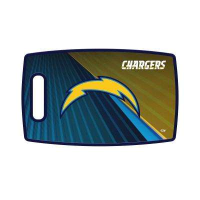 Los Angeles Chargers Large Plastic Cutting Board