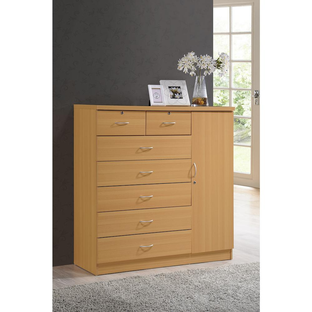 chest shop product factory robe drawers decofurn door oak titan drawer