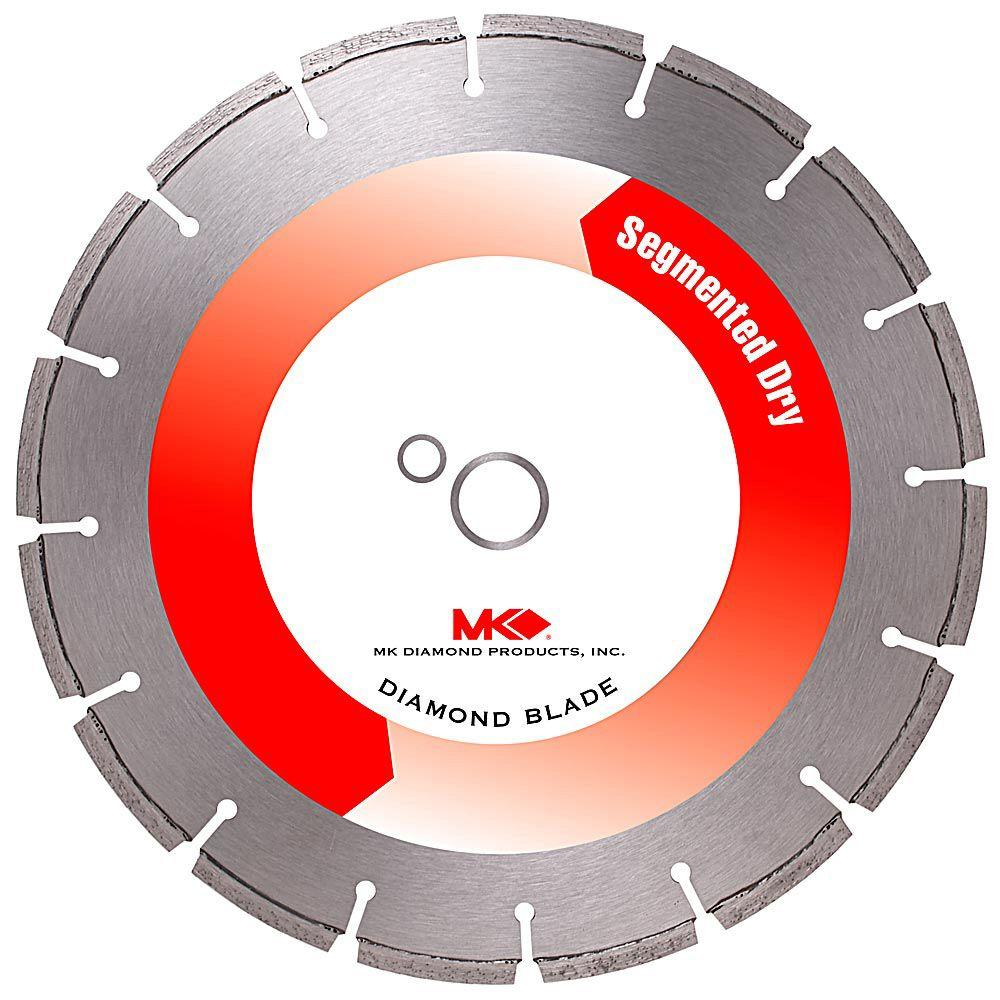 Mk diamond 14 in dry cutting general purpose segmented diamond mk diamond 14 in dry cutting general purpose segmented diamond blade for cured concrete greentooth Images