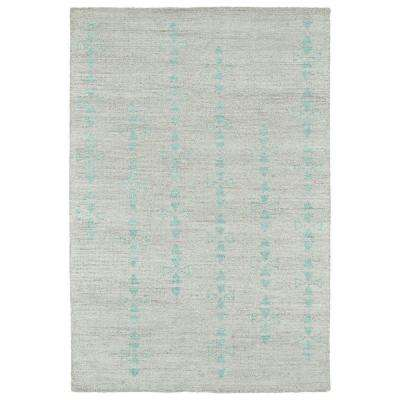 Solitaire Silver 4 ft. x 6 ft. Area Rug