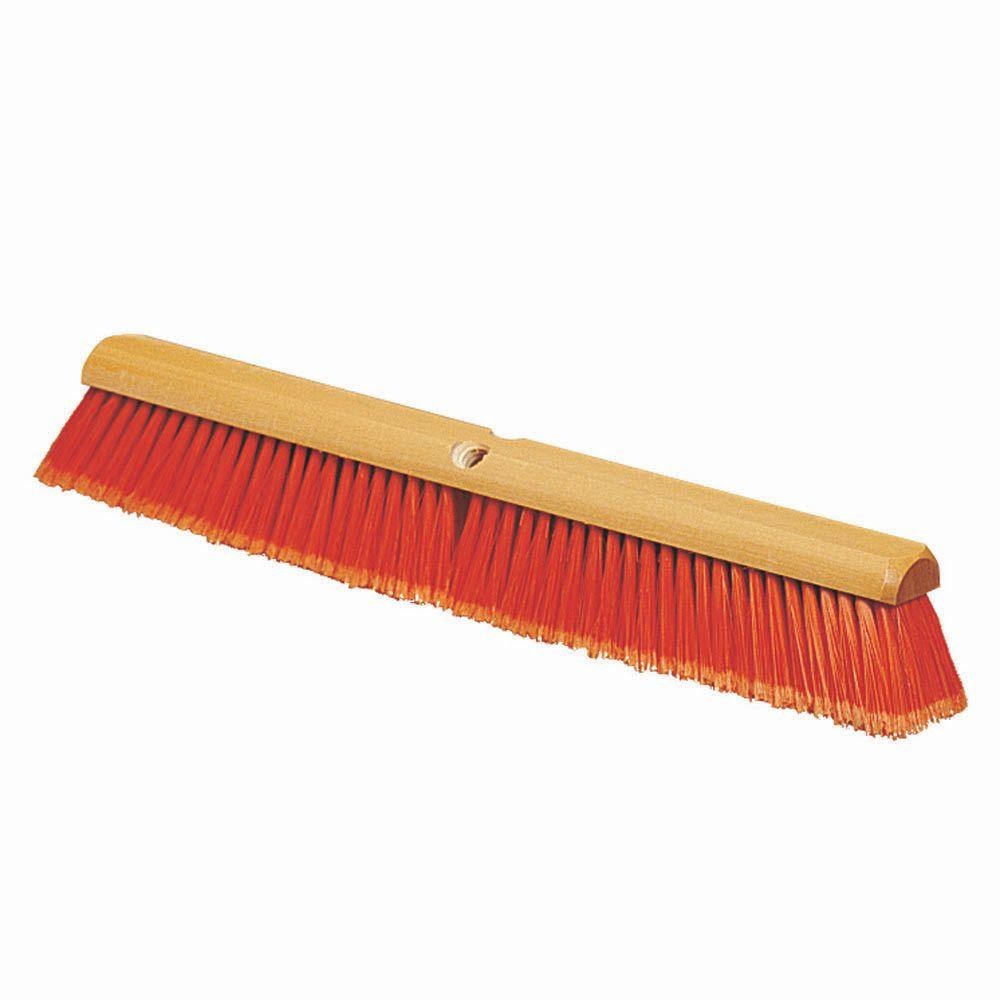 Carlisle 18 in. Fine Sweep Indoor Broom Head (Case of 6)