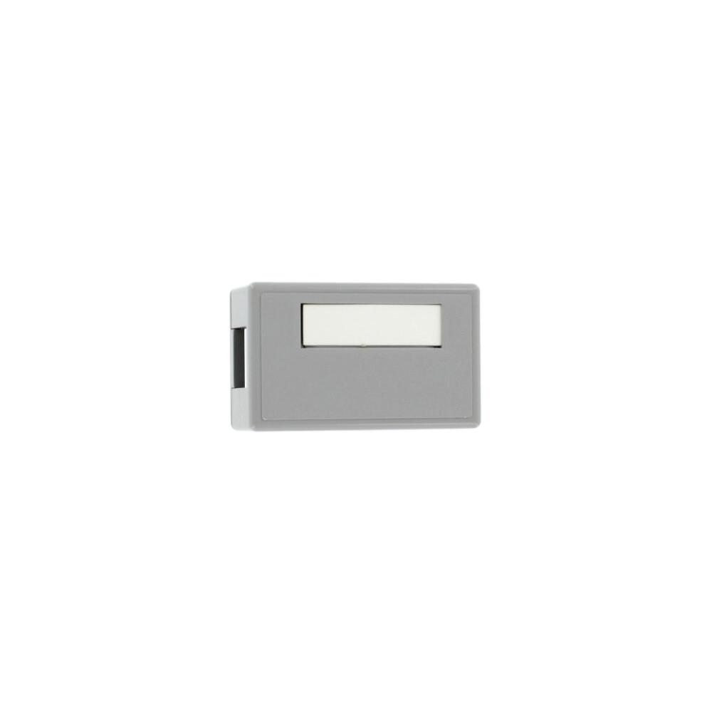1-Port QuickPort Surface Mount Box, Gray