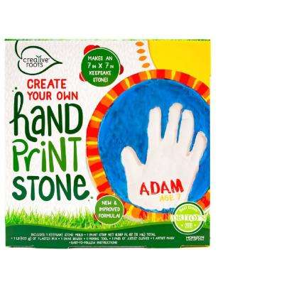 2.5 in. W x 2.5 in. D Handprint Stone Kit