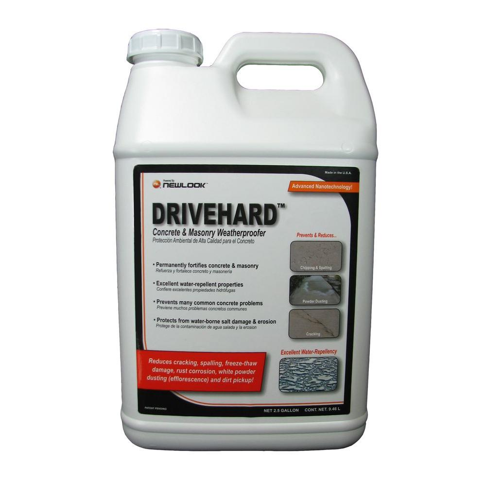 DRIVEHARD 2.5 gal. Premium Concrete and Masonry Weatherproofer and Fortifier