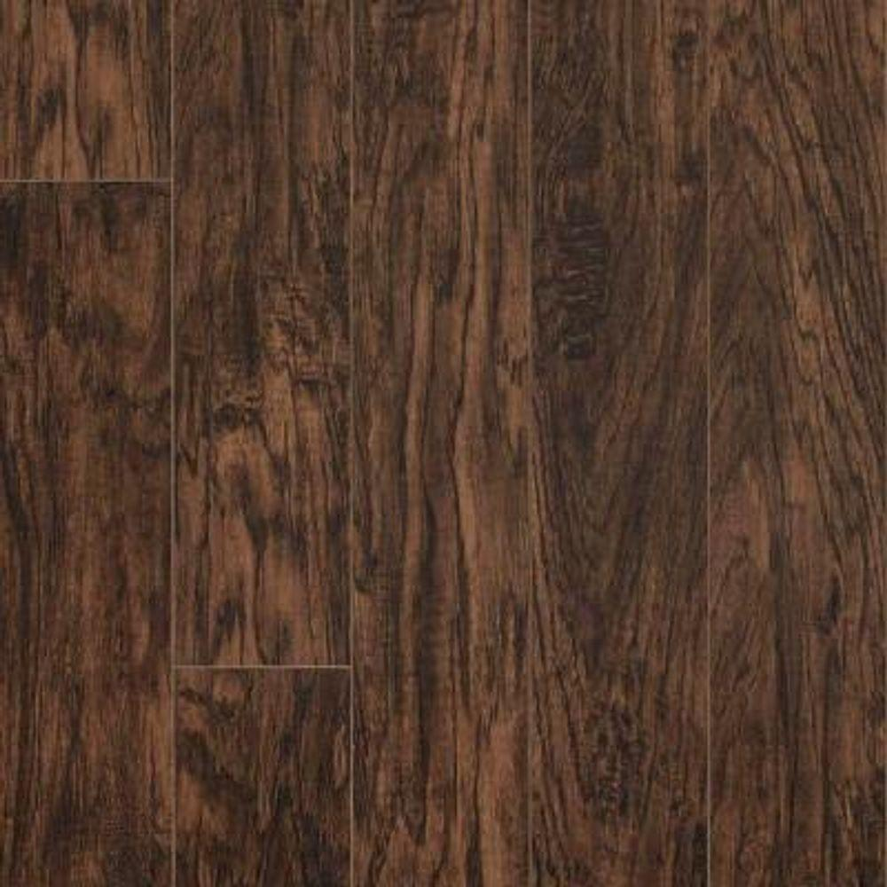 Pergo XP 10 mm Coffee Handscraped Hickory Laminate Flooring - 5