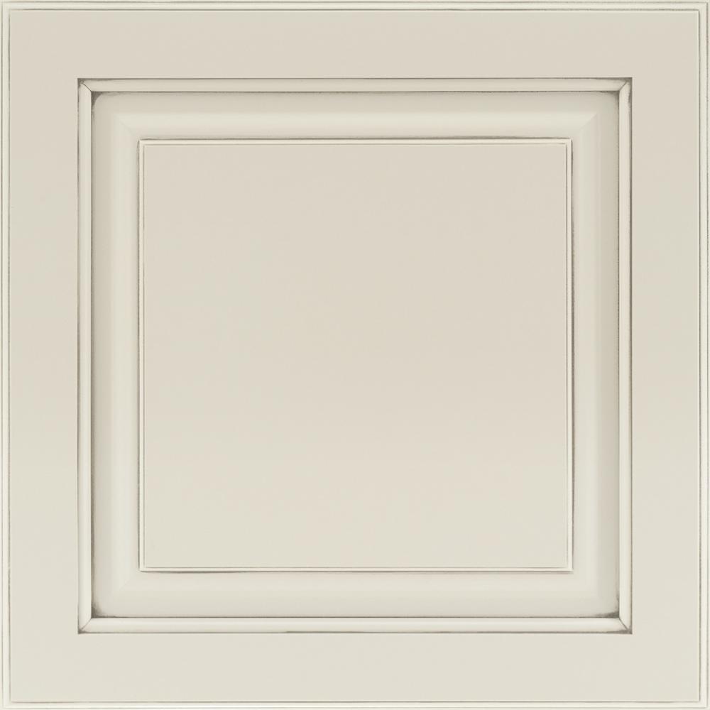 14-9/16 x 14-1/2 in. Cabinet Door Sample in Portola Painted Ember Glaze