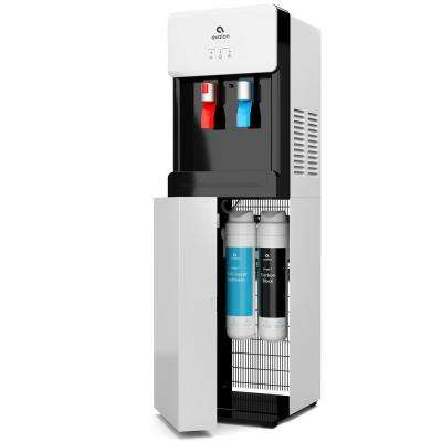 Bottle-Less, Self-Cleaning Water Cooler Dispenser with Hot/Cold Water, Filter and Child Safety Lock - UL/ENERGY STAR