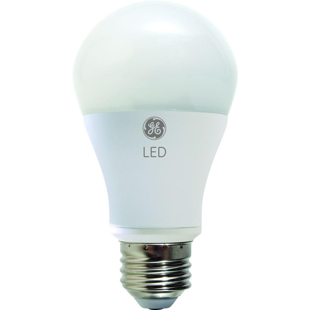 Ge 40w Equivalent Warmest White Pm A19 Dimmable Led Light Bulb Led7da19 820 H The Home Depot