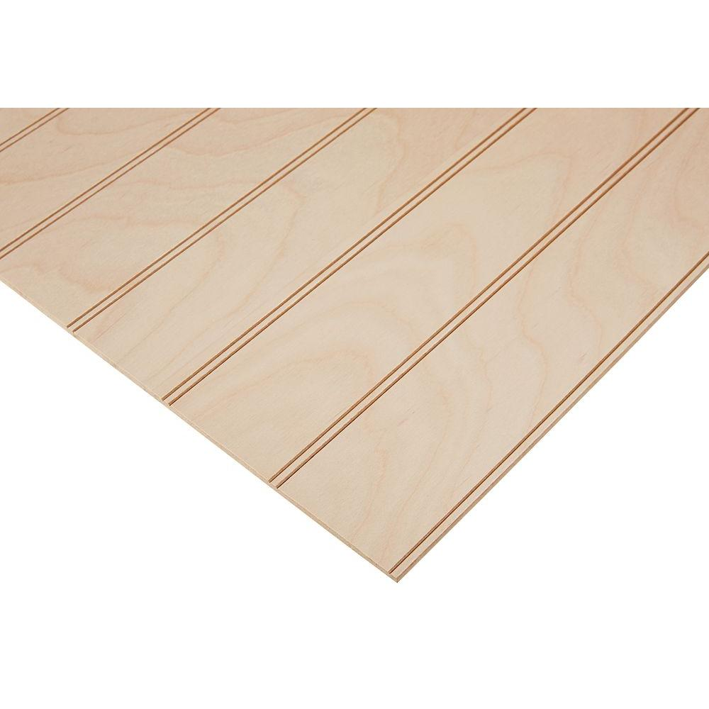 Columbia Forest Products 1/4 in. x 4 ft. x 4 ft. PureBond Maple 3 ...