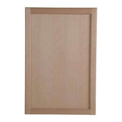 Easthaven Assembled 24x36x12.62 In. Wall Cabinet In Unfinished ...