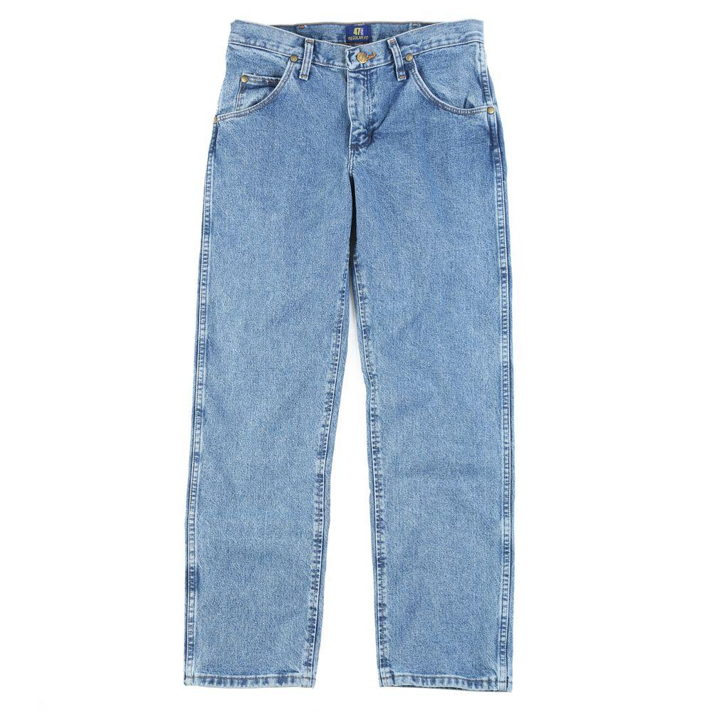 aae5715f3dd Wrangler Men's Regular Fit New Cowboy Cut Jean-47MWZSW - The Home Depot