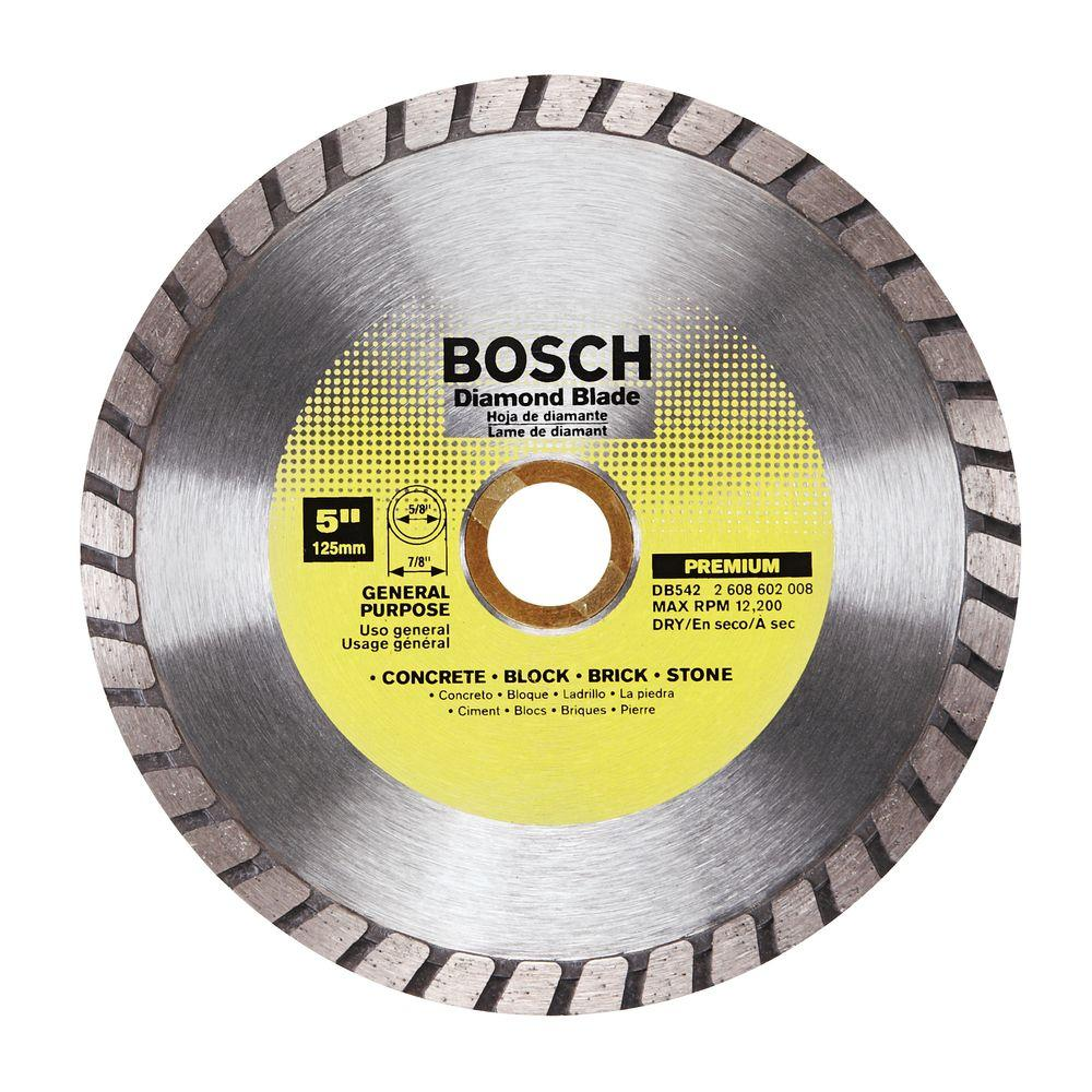 King diamond 10 in diamond tile circular saw blade c10s7 the home general purpose diamond circular saw blade for cutting concrete greentooth Images