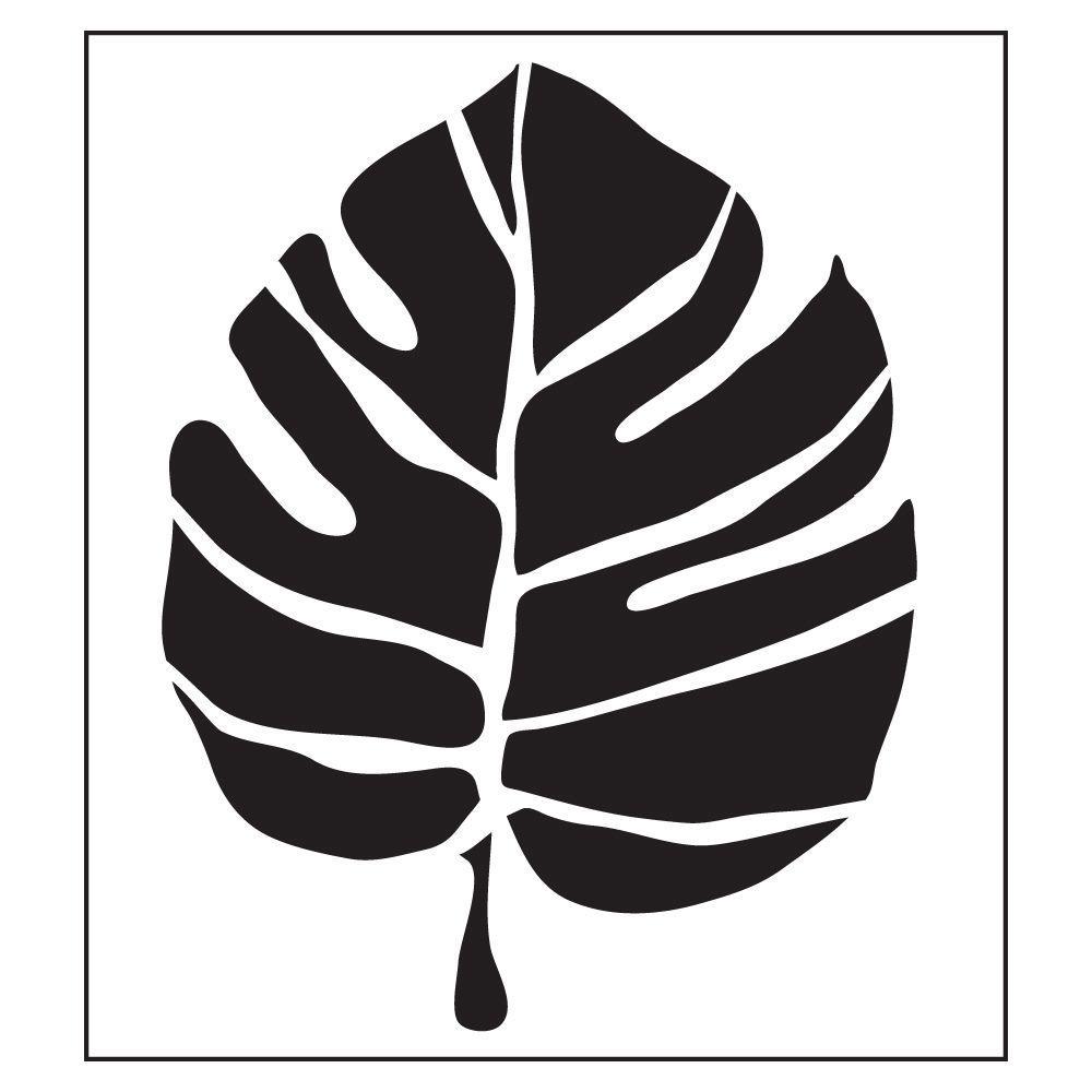 FolkArt Large Leaf Painting Stencils
