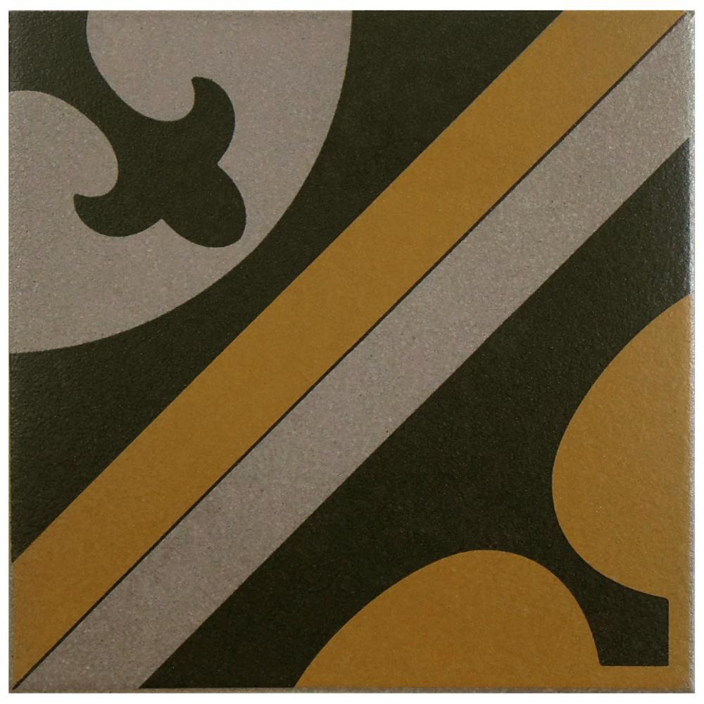 merola tile cementi quatro cla centro 7 in x 7 in. Black Bedroom Furniture Sets. Home Design Ideas