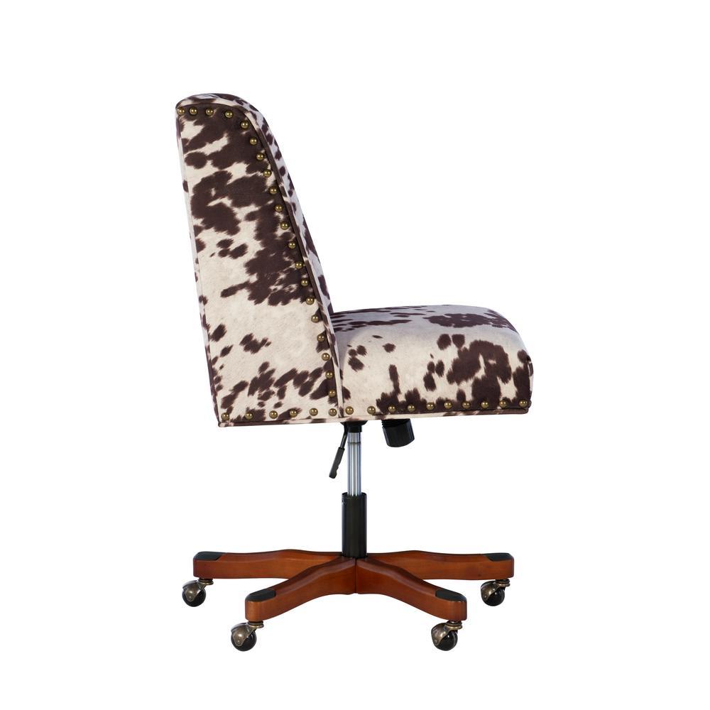 Linon Home Decor Draper Udder Madness Microfiber Office Chair 178404udm01u The Home Depot
