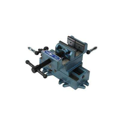5 in. Cross Slide Drill Press Vise