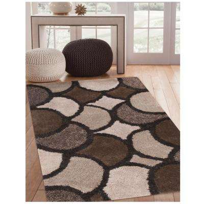 Lifestyle Lennox Charcoal 5 ft. x 8 ft. Area Rug