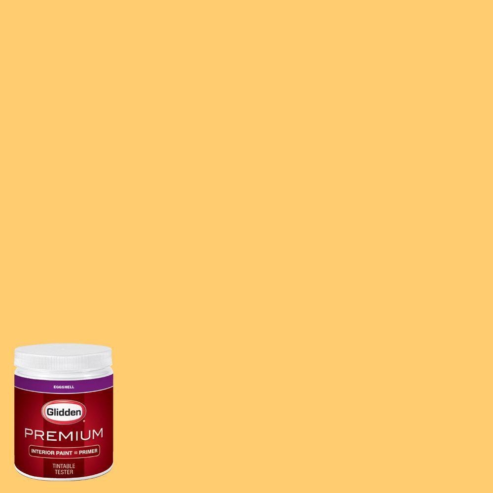 Glidden Bathroom Paint: Glidden Premium 8 Oz. #HDGY01 Sun Rays Eggshell Interior