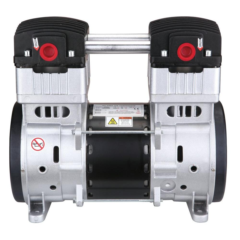 2.0 HP Ultra Quiet and Oil-Free Air Compressor Motor