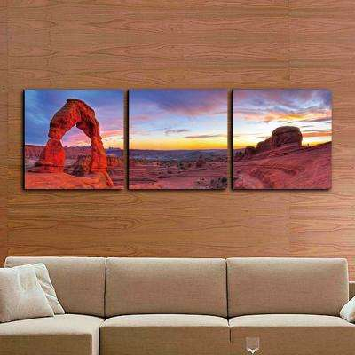 "24 in. x 72 in. ""Delicate Arch"" Printed Wall Art"