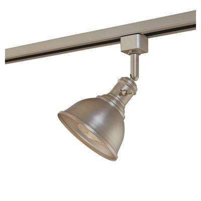 Linear Track Head Brushed Steel Metal Shade