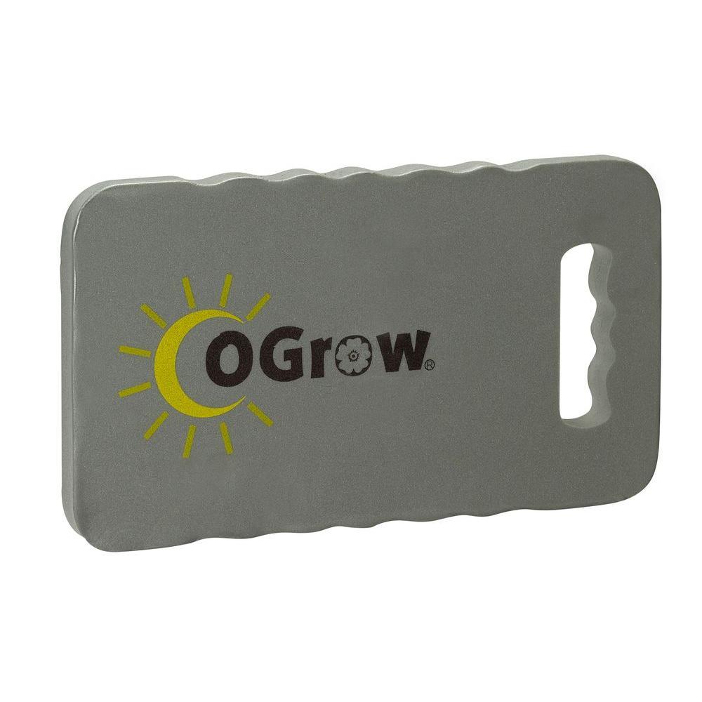 Ogrow 1 in. Thick 14 in. x 8 in. Grey Garden Kneeling Pad