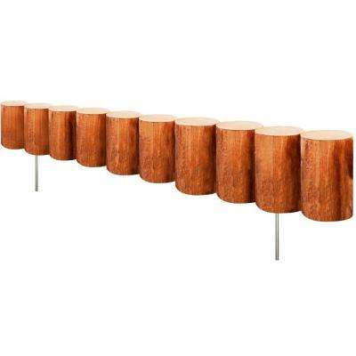 30 in. Wood Log Edging (6-Pack)