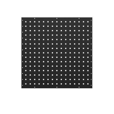 24 in. H x 24 in. W Steel Flange Pegboard Wall Panel Set (2-Pack)