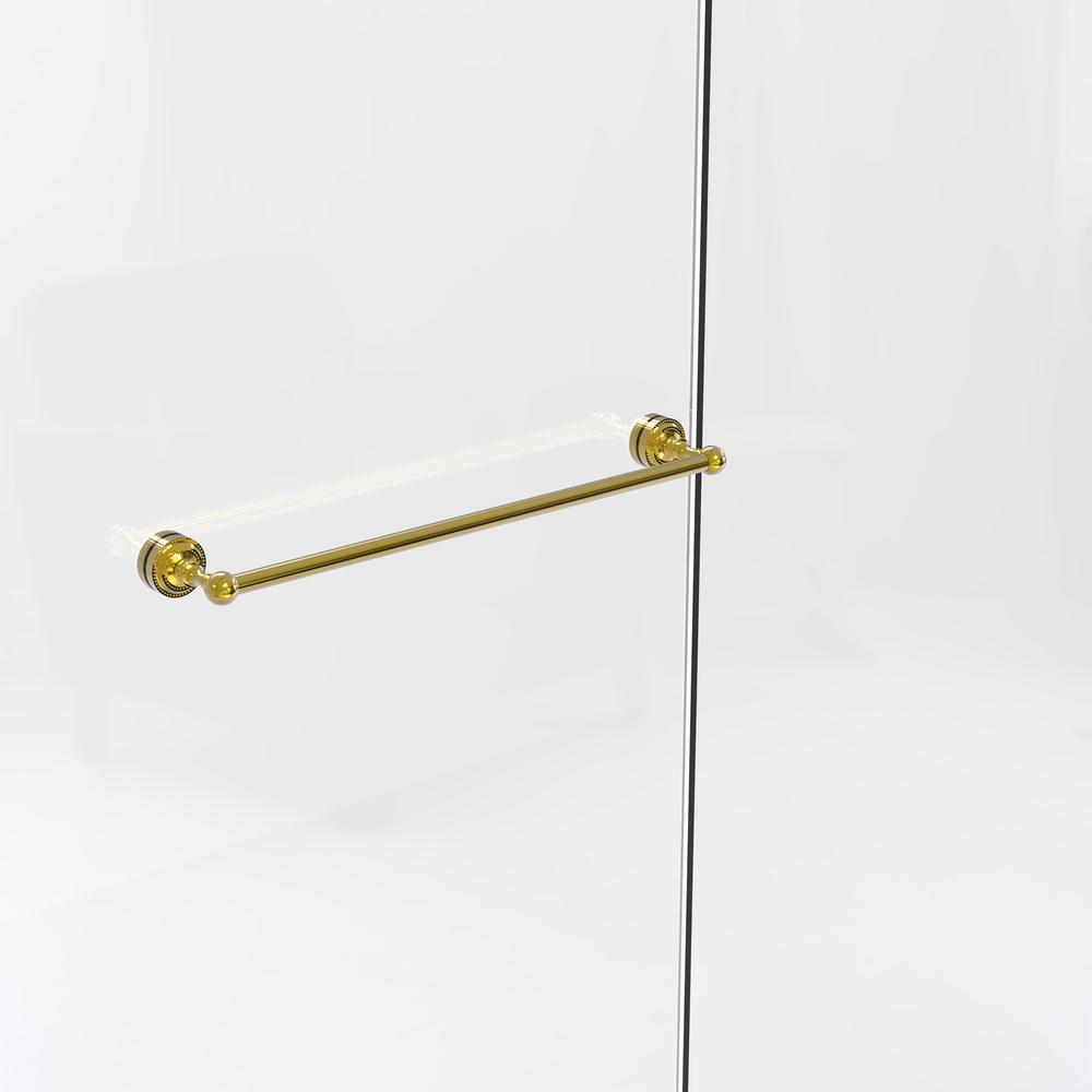 Allied Brass Dottingham Collection 24 in. Shower Door Towel Bar in ...