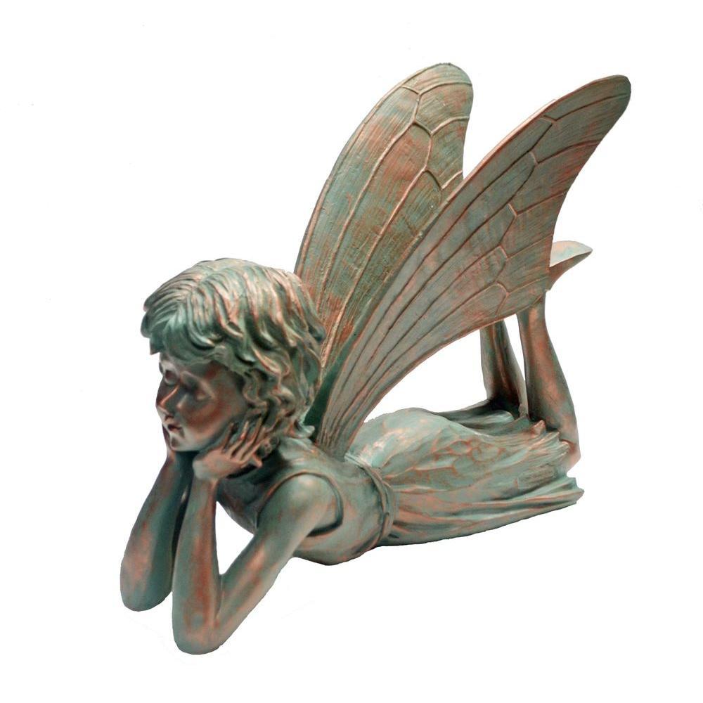 Garden Statue Fairy: Suffolk Fairies 15 In. Dreamer Garden Statue-99010