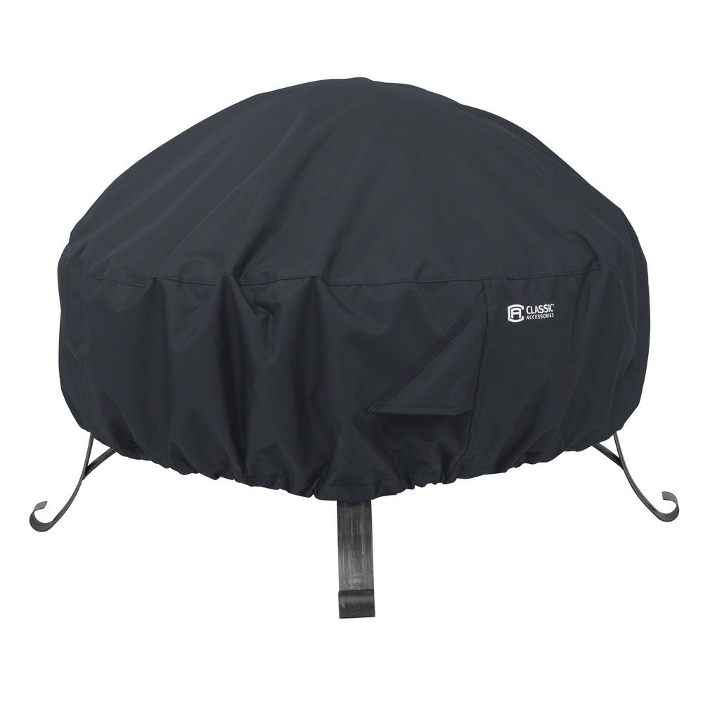 Classic Accessories Large Round Full Coverage Fire Pit Cover