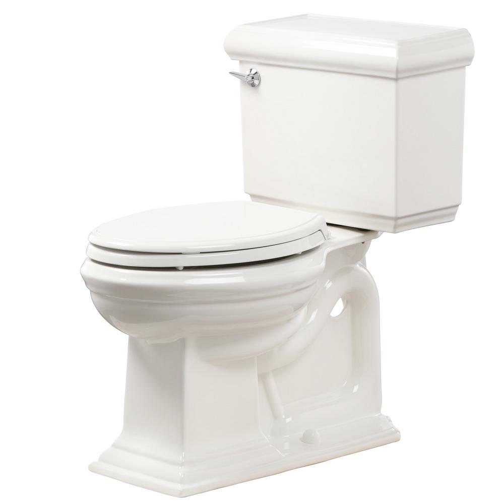 kohler memoirs 2 piece gpf single flush elongated toilet in white k 10493 0 the home depot. Black Bedroom Furniture Sets. Home Design Ideas