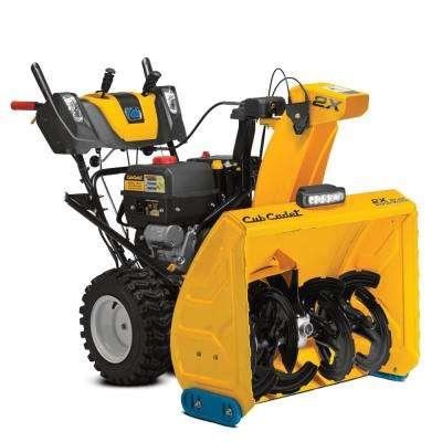 2X 30 in. PRO 420 cc Two-Stage Gas Snow Blower with Electric Start, Power Steering and Steel Chute
