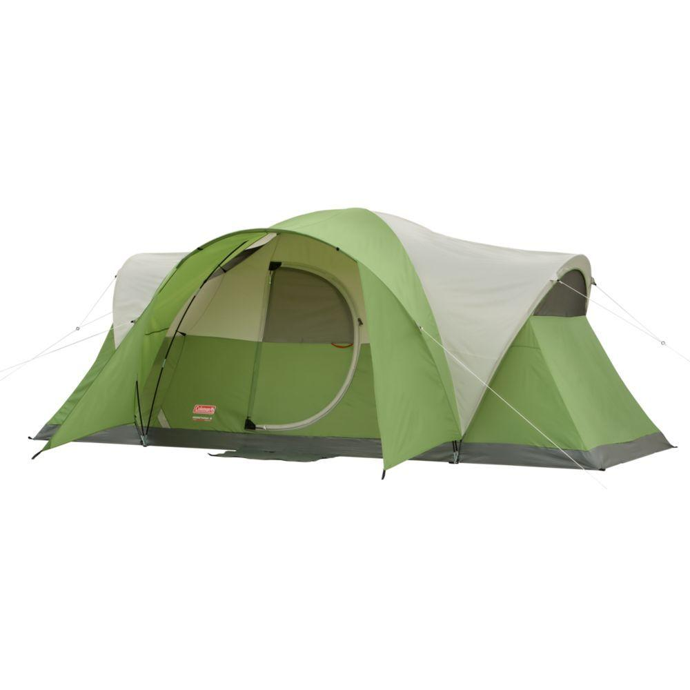 Coleman Montana 8-Person 1-Room Modified Dome Tent