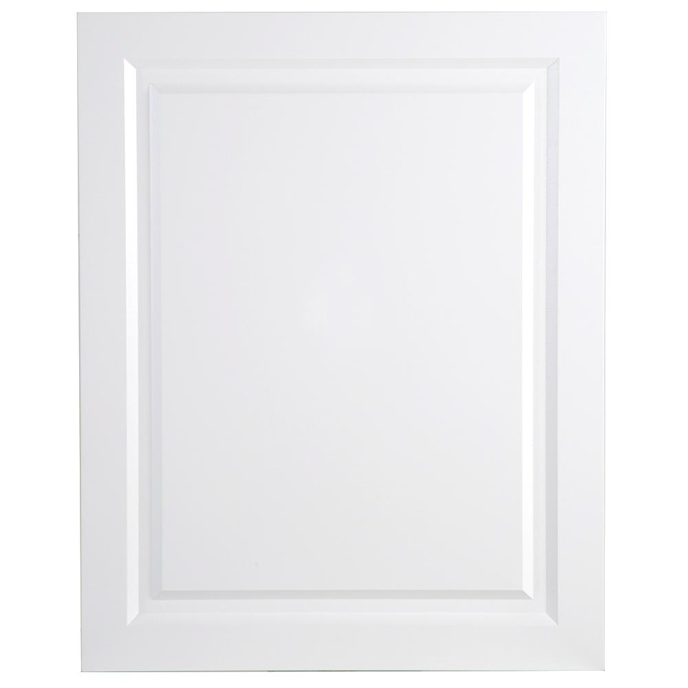 24x30x0.63 in. Decorative Base End Panel in White