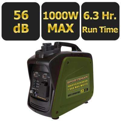 1,000-Watt Gasoline Powered Digital Inverter Generator
