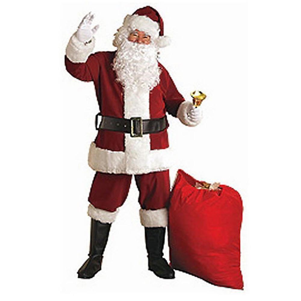 Rubie S Costumes Adult Xx Large Crimson Regal Plush Santa