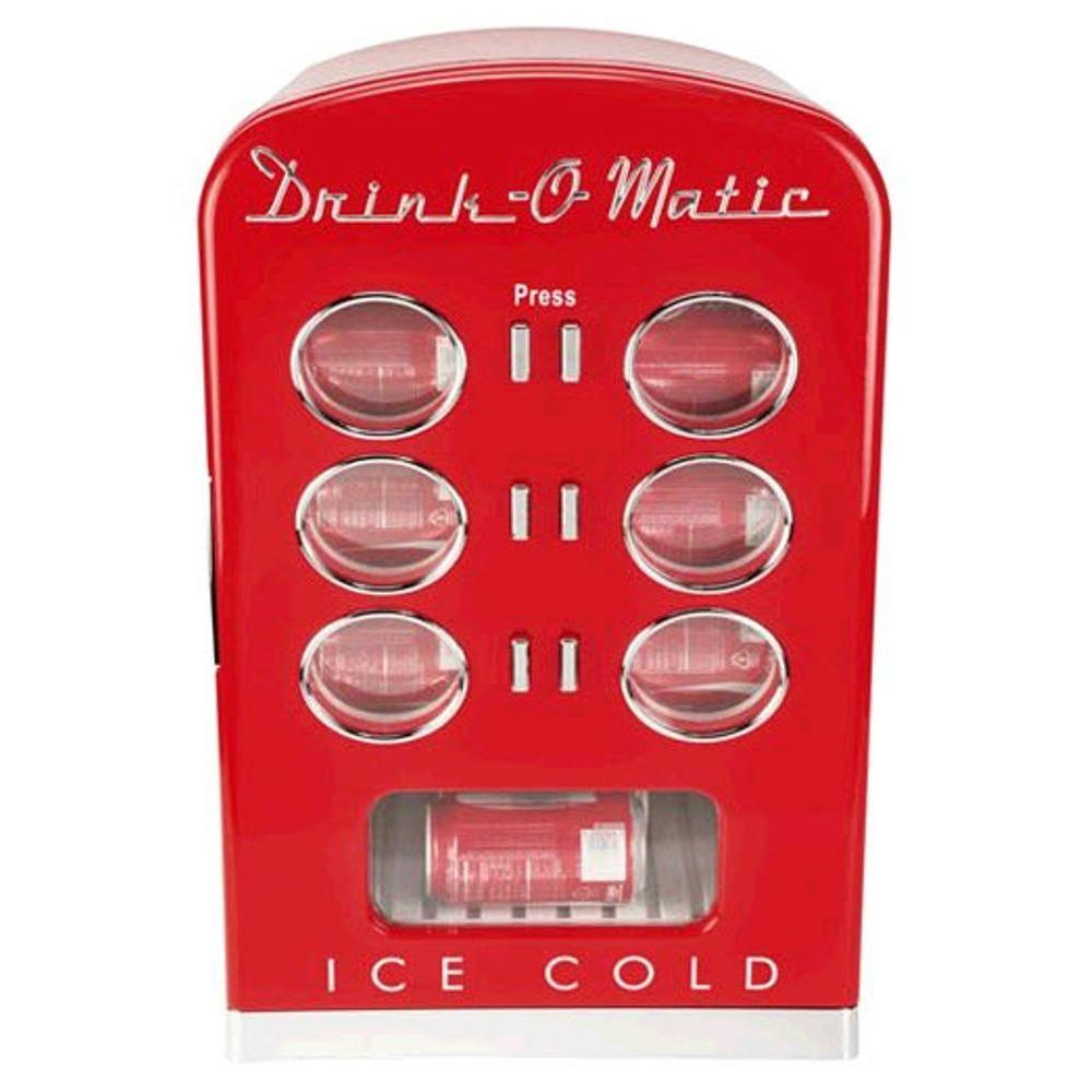 KALORIK 12-Can Retro-Themed Mini Cooler