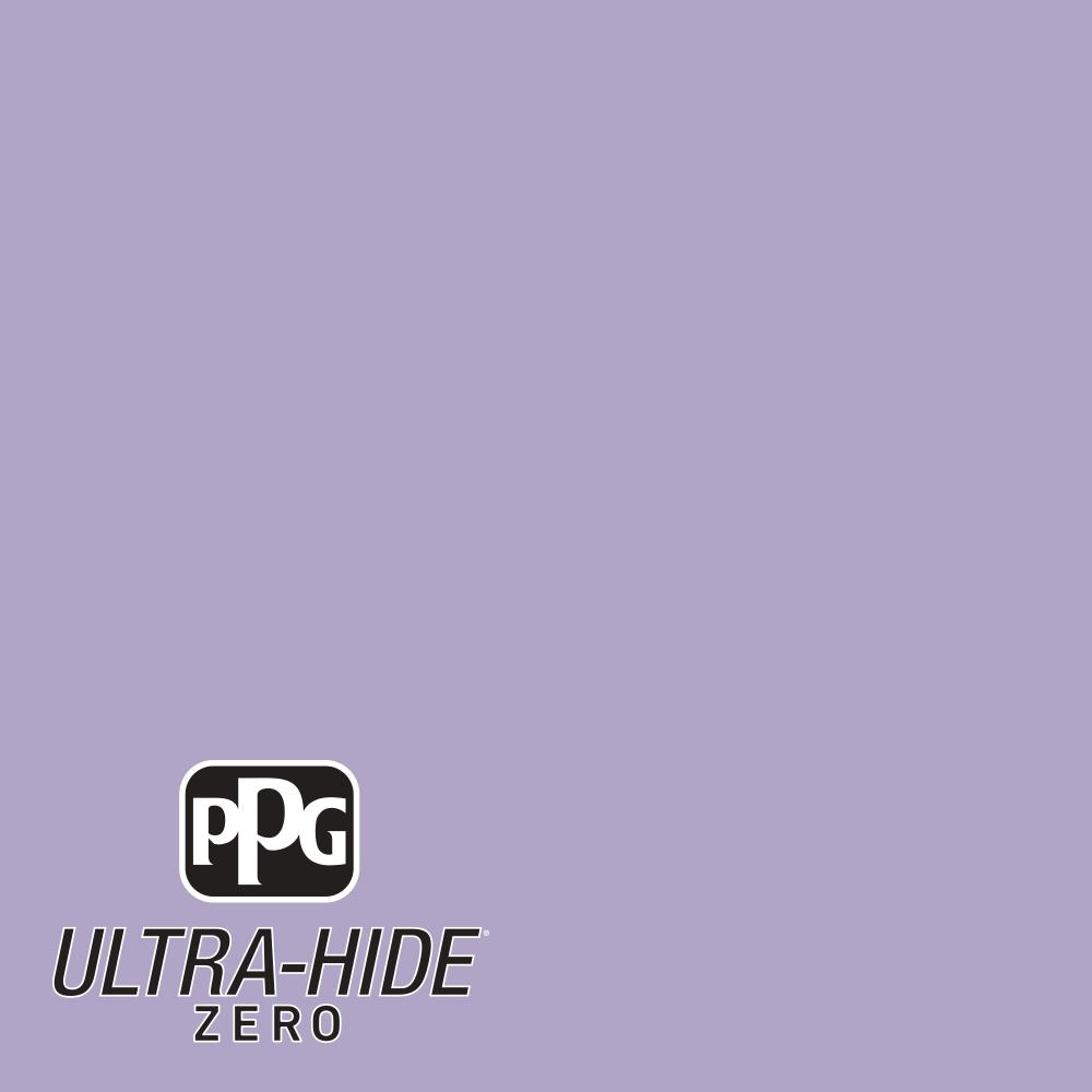 PPG 5 gal. #HDPV46U Ultra-Hide Zero Soft Orchid Violet Eggshell Interior Paint