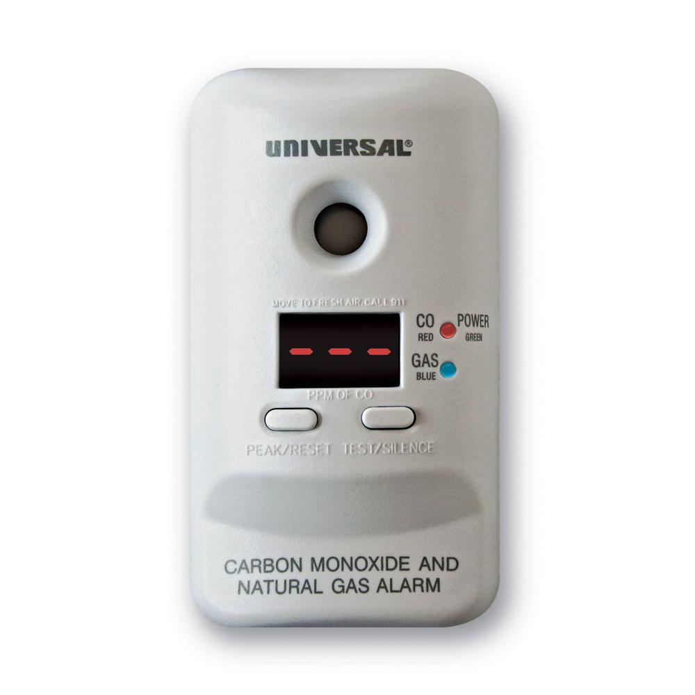Universal Security Instruments Combination Carbon Monoxide And Natural Gas Alarm