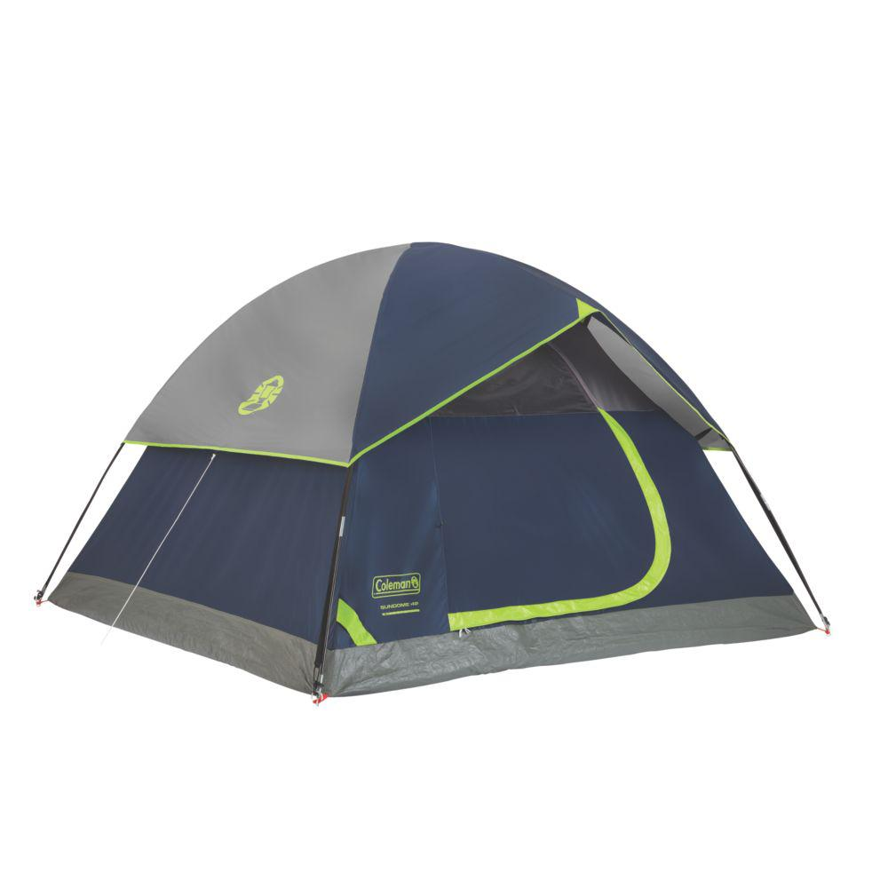 Coleman Sundome 4P Navy Grey Tent