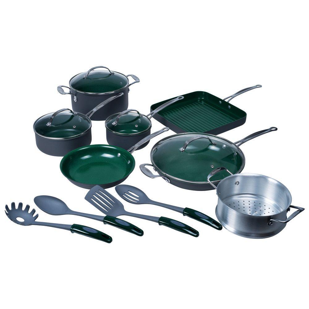 Orgreenic 16-Piece Non Stick Cookware Set-DISCONTINUED