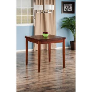 +2. Winsome Wood Pulman Walnut Extension Table