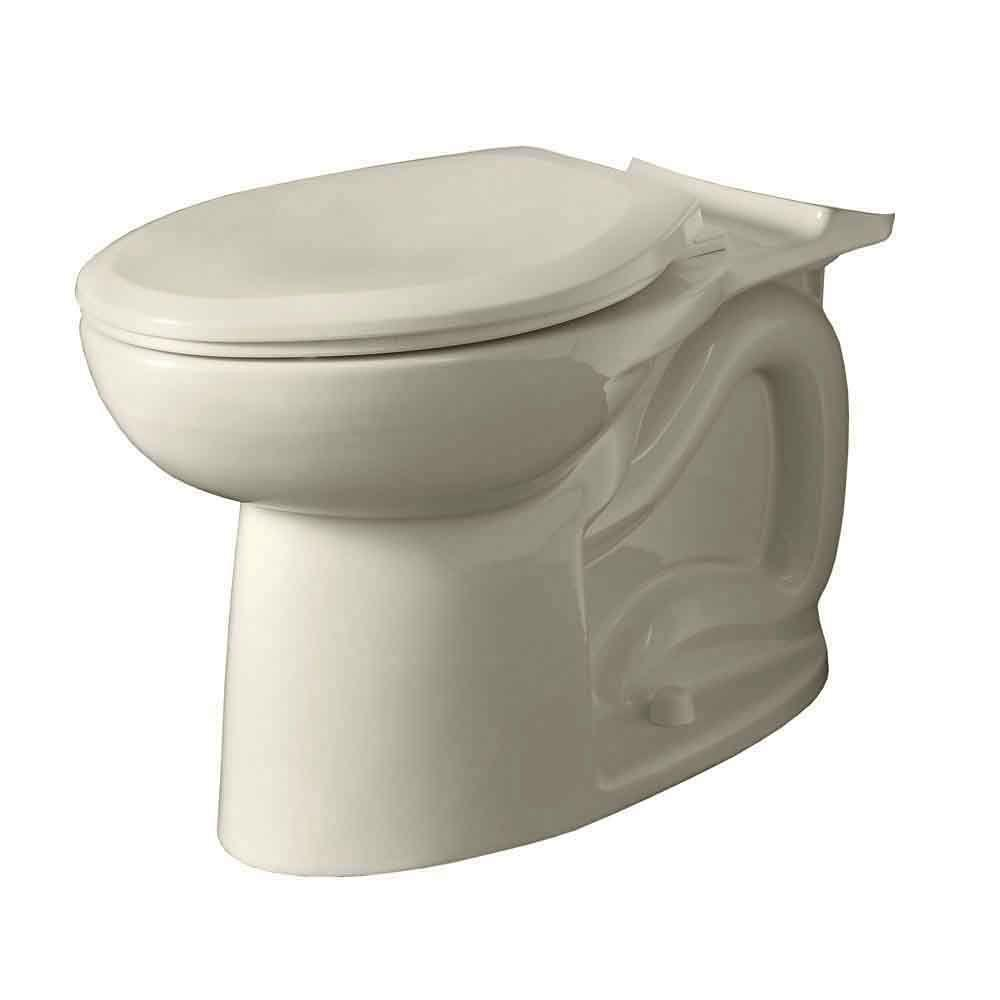 American Standard Cadet 3 Universal Elongated Toilet Bowl Only in Linen-DISCONTINUED