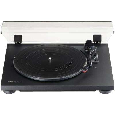 3-Speed Analog Auto-Return Turntable in Black
