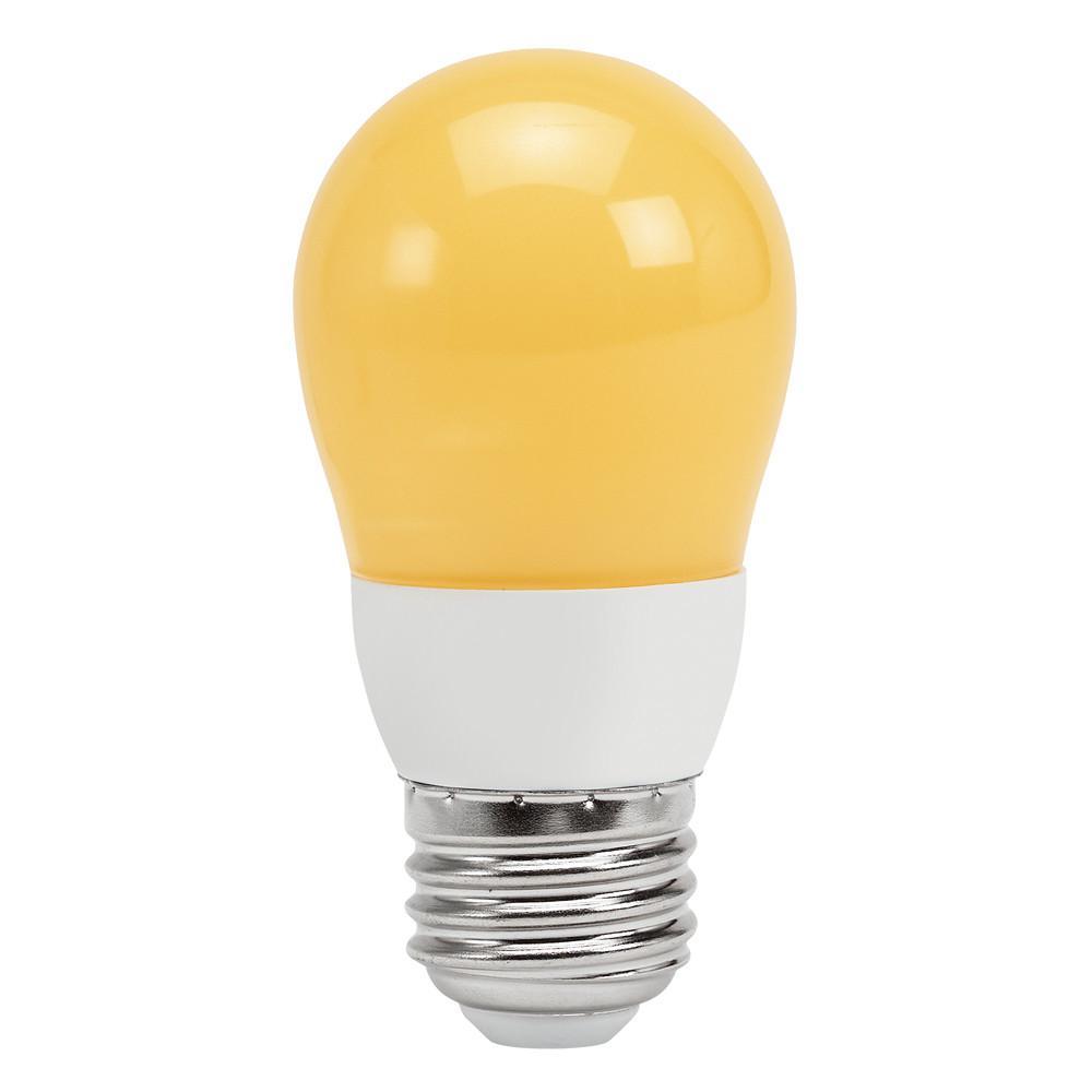 40W Equivalent Soft White A15 Sleep-Aid LED Light Bulb (4-Pack)