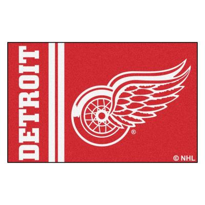 NHL - Detroit Red Wings Red 2 ft. x 3 ft. Indoor Area Rug