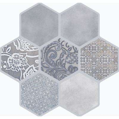 Virtue Gray Matte 17.72 in. x 17.72 in. Porcelain Floor and Wall Tile (13.455 sq. ft. / case)